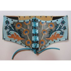 Besame Mucho Corset - Pavo Real