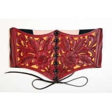 Besame Mucho Corset – Red/Yellow